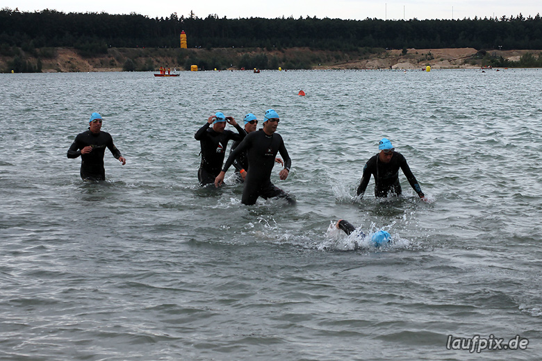 how to train for ironman swim